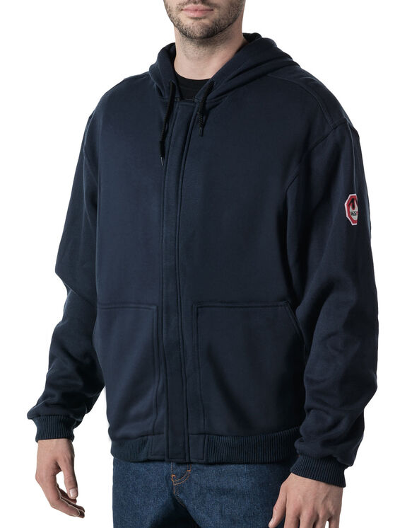 Walls® Flame Resistant Hooded Zip-Front Sweatshirt - NAVY (NA9)