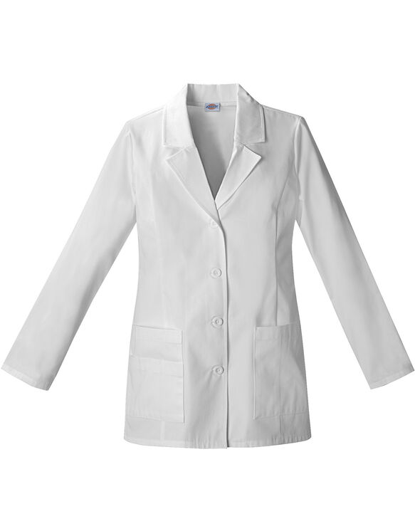 "Women's EDS 29"" Lab Coat - DICKIES WHITE-LICENSEE (DWH)"