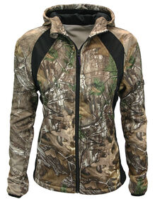 Walls® Women's Hunting Full-Zip Fleece Jacket - REAL TREE XTRA (AX9)
