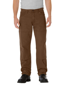 Relaxed Fit Straight Leg Double Knee 6-Pocket Duck Jean - RINSED TIMBER (RTB)