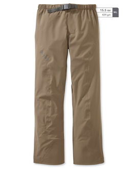 Outlet Chugach NX Rain Pant, Major Brown