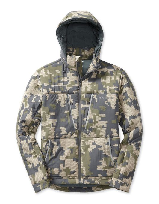 Kenai Hooded Insulated Jacket,