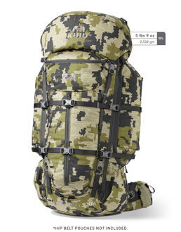 Green Camo Hunting Backpack