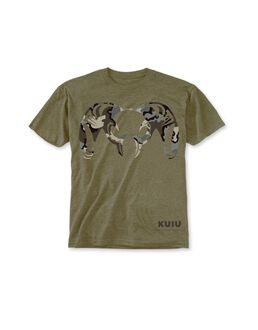 Youth Logo T-Shirt, Army Green