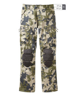 Green Camo Alpine Hunting Pants