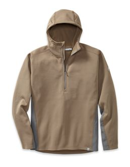 Peloton 200 Zip-T Hoodie, Major Brown