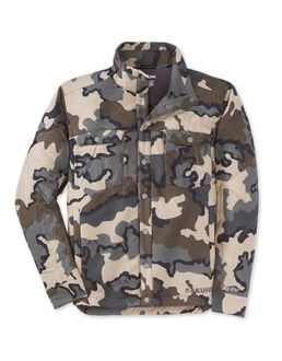 Insulated Snap Shirt, Vias Camo