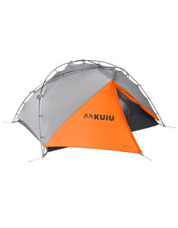 Mountain Star 2P Tent, Gunmetal-Orange