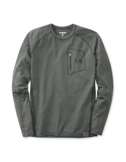 ULTRA Merino 145 LS Crew-T, Charcoal-Black