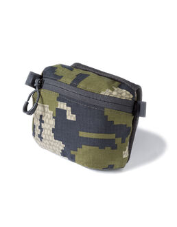 Green Camo Hunting Hip Belt Pouch