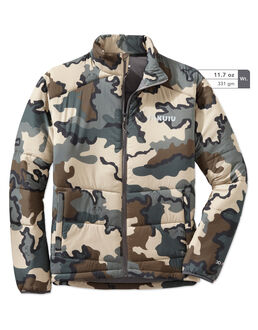 Teton Insulated Hunting Jacket in Camouflage
