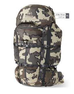 Icon Pro 7200 Camo Hunting Backpack