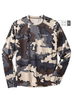 Teton Long Sleeve Camo Hunting Shirt
