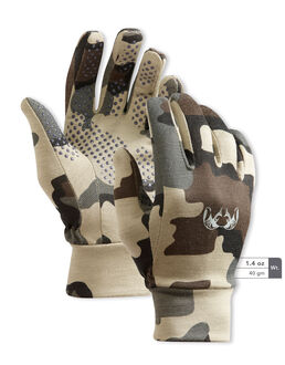 Merino Wool Camo Hunting Gloves