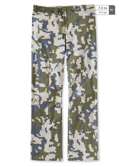 Green Camo Hunting Rain Pants