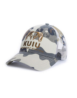 Grey Camo Hunting Baseball Cap