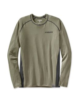 ULTRA Merino 125 LS Crew-T, Forest-Black