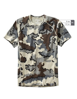Merino Wool 125 Camo Hunting T-Shirt