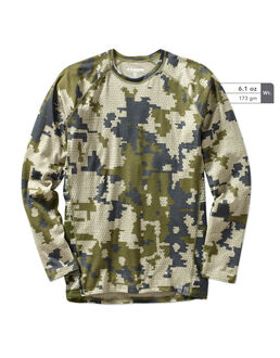Merino Wool 125 Camo Hunting Shirt