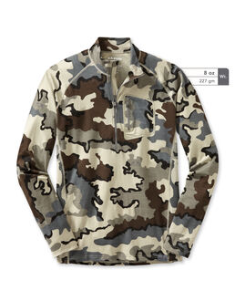 Merino Wool Grey Camo Hunting Shirt