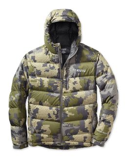 Super Down Pro Hooded Hunting Jacket