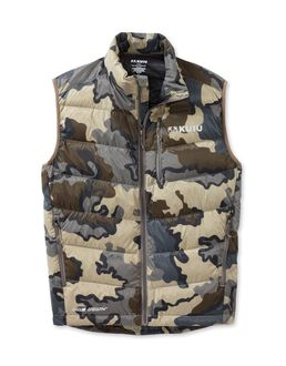 Super Down Camo Hunting Vest
