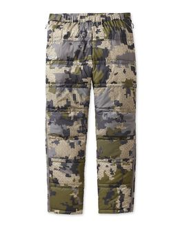 Super Down Camo Hunting Pants