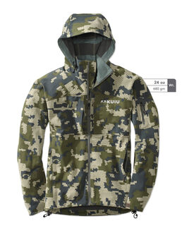 Camo Hooded Hunting Jacket