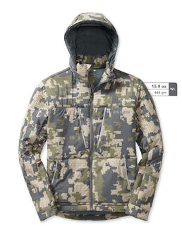 Kenai Hooded Insulated Camo Hunting Jacket