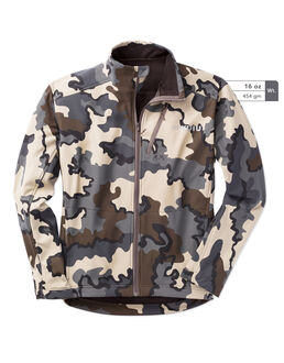 Teton Soft Shell Camo Hunting Jacket