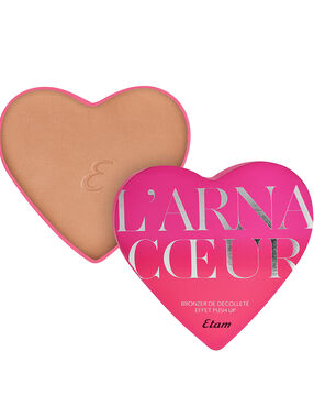 Decolleté bronzer met push-up effect