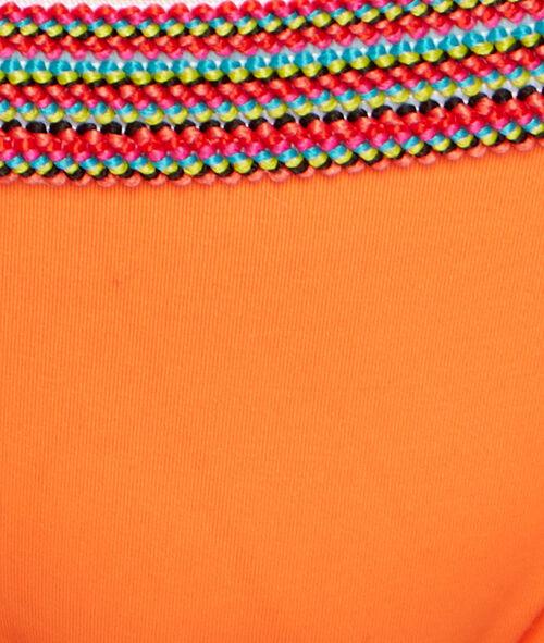 Culotte de bain avec détail élastique multicolore;${refinementColor}