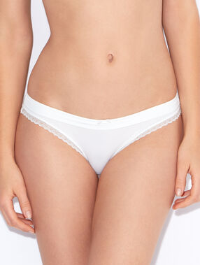 Micro knicker white.