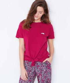 Bluzka z supełkiem rose.