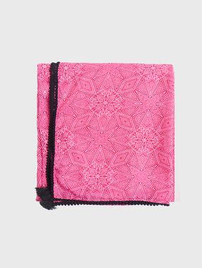 Halstuch rosa.
