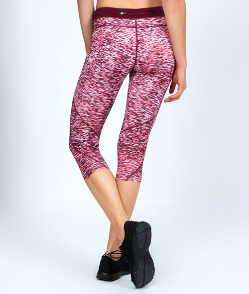 Croped pants, ultra-strech and ultra-breathable material, reflecting details;${refinementColor}