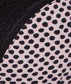 Soutien-Gorge Ampliforme micro imprimée et dentelle, Bonnet D