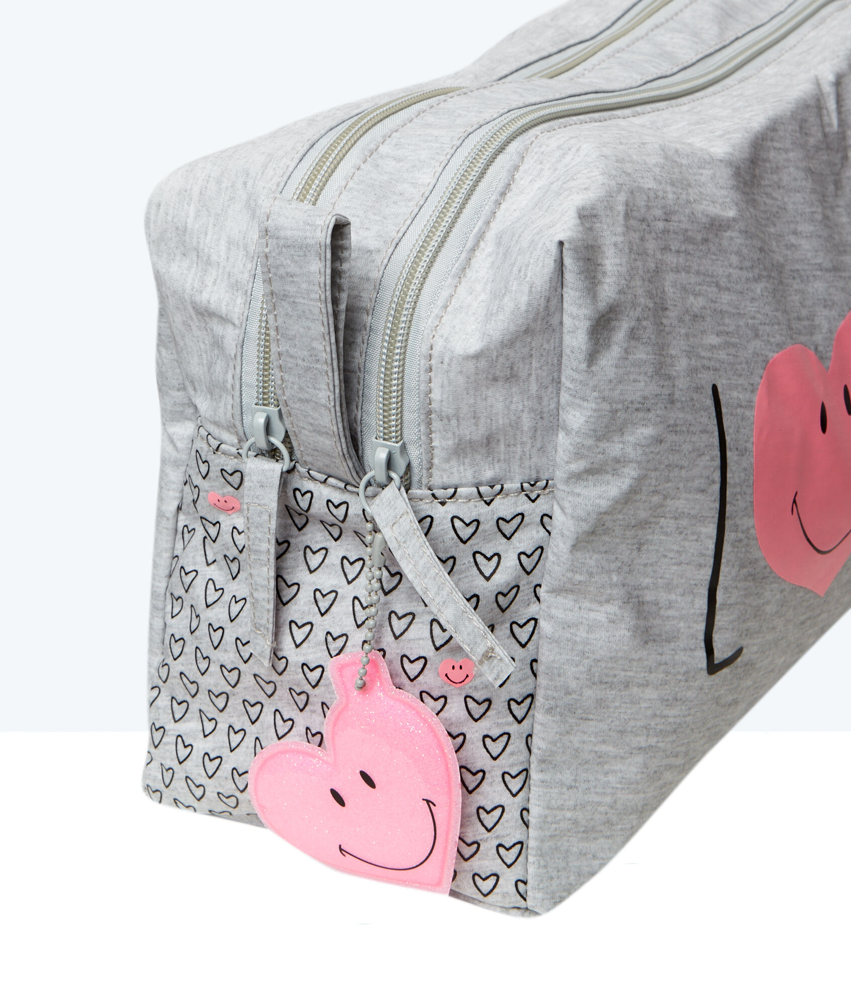 smiley bag trousse de toilette imprim e d tail curseur fantaisie etam. Black Bedroom Furniture Sets. Home Design Ideas