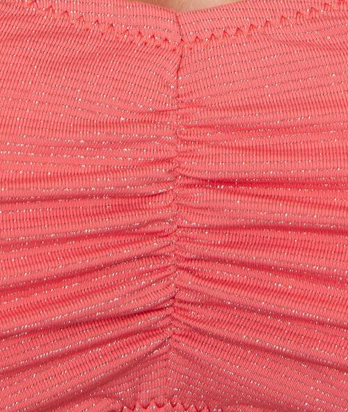 Haut de bain bandeau en fibres métalisées;${refinementColor}