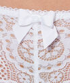 Shorty dentelle crochet