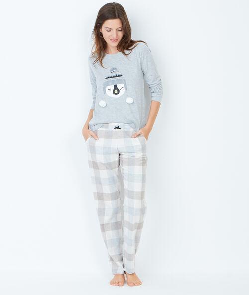 Pyjama sweatshirt