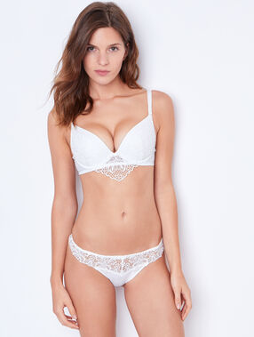 Lace magic up® bra beige.