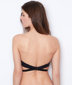 Tirantes espalda descubierta negro.