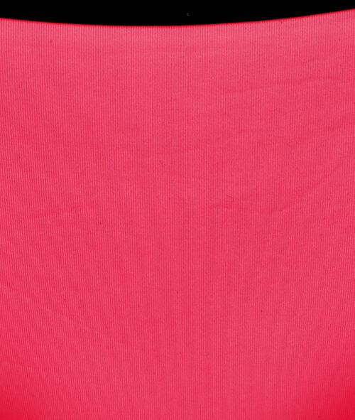 Culotte de bain unie côtés avec ceinture contrasté noir;${refinementColor}