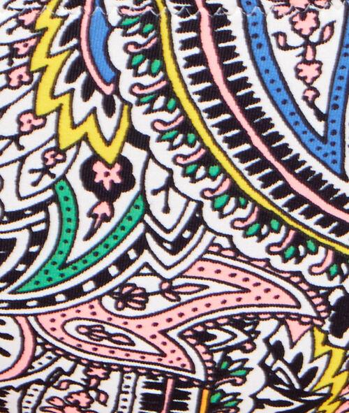 Culotte de bain imprimé cachemire multicolore;${refinementColor}