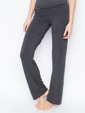 Viscose pyjama pants grey.
