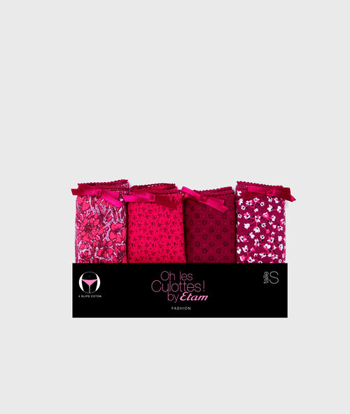 Pack of 4 knickers;${refinementColor}