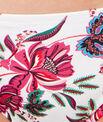 Culotte de bain imprimé fleurs folk