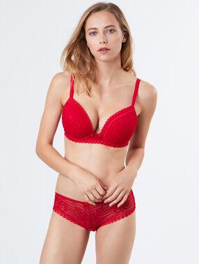 Soutien-gorge n°5 - ampliforme classique red.
