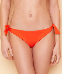 Culotte de bain bijou éthnique orange.